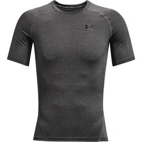 Under Armour HeatGear Armour Short Sleeve Shirt Men, grijs